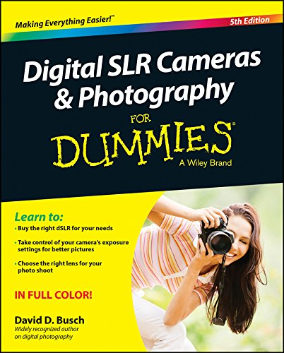 The perennial DSLR bestseller—now expanded with more photography tips Digital SLR Cameras & Photography For Dummies has remained the top-selling book on DSLR photography since the first edition was published. Now in its Fifth Edition, itcovers th...