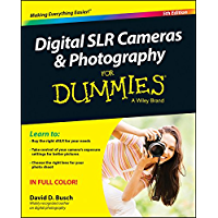Digital SLR Cameras & Photography For Dummies book cover