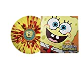 Spongebob Squarepants OST - Yellow with Red,White & Brown Splatter