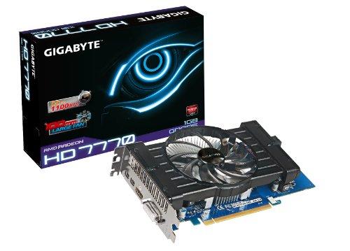 Gigabyte GV-R777OC-1GD AMD Radeon HD 7770 1GB GDDR5  DVI-I / HDMI / 2X Mini-Displayport PCI-Express 3.0 Graphic Card ()