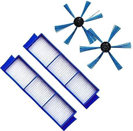 Für Philips FC8007//FC8792//FC8794//FC8796 Staubsauger Teile Side Pinsel Filter