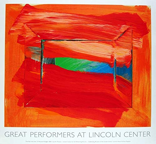 Howard Hodgkin-The Sky's The Limit-2002 Serigraph