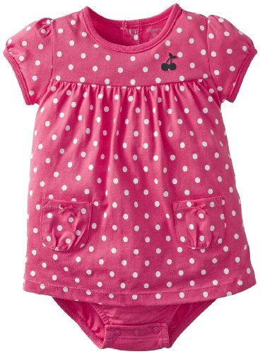 Carter's Baby Girls' Sunsuit (Baby) - Pink Dots