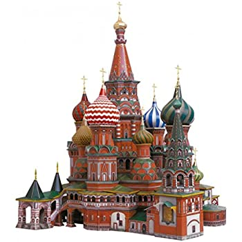 Innovative 3D Puzzles   St. Basilu0027s Cathedral (Moscow, Russia)   Historical