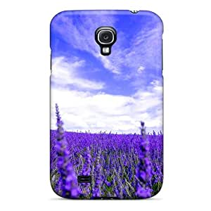 Galaxy Case - Tpu Case Protective For Galaxy S4- Lavender Field For Susana Chu41