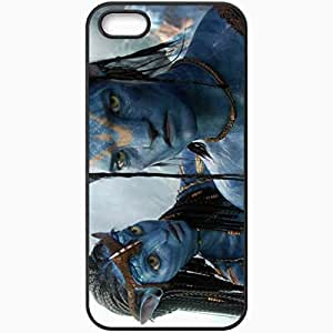 Personalized iPhone 5 5S Cell phone Case/Cover Skin A Avatar 19264 Black
