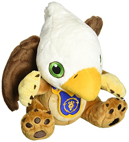 (World of Warcraft Gryphon Hatchling Plush with Unscratched Loot Card by Blizzard Entertainment)
