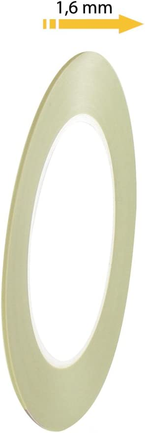 Acrylique fine line masquage ruban adhésif haute température 3mm x 55m fineline pour carrosserie
