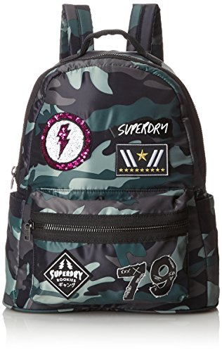 BOLSOS G91003GQ OI4 MIDI PUNK BACKPACK Multicolore (Patched Camo)