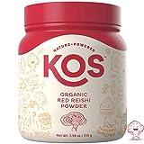 KOS Organic Red Reishi Powder – Premium Raw Red Reishi Mushroom Powder USDA Vegan Plant Based Ingredient, 215g (7.58oz) Review