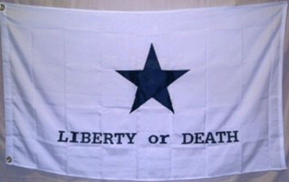 激安人気新品 3 x 5刺繍Texas Goliad Battle Liberty 3 or Death合成コットンフラグ3 Battle ' Liberty x5 ' B01NCRP9CM, 釜庄:61ed17db --- application.woxpedia.com