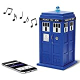 Doctor Who TARDIS Wireless Bluetooth Speaker with MIC, LED's and Sound Effects