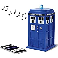Doctor Who TARDIS Wireless Bluetooth Speaker with MIC, LED's and Sound Effects. Best Doctor Who gift in the Universe