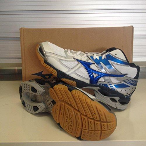 Mizuno - Mizuno Wave Bolt 4 Mid Scarpe Pallavolo Bianche 156524 - Blanco, 42,5