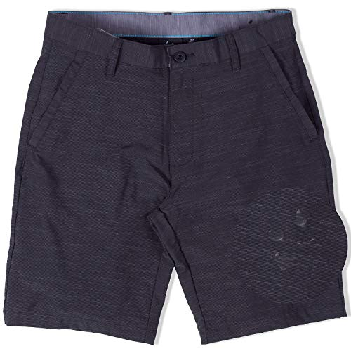 Burnside Hybrid Stretch Shorts for Mens Men Golf Boardshorts Black - 36 ()