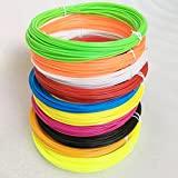 NSC 3D Printing Extruder Pen 5m PLA 1.75mm Filament Printing Materials Plastic Colorful Rainbow
