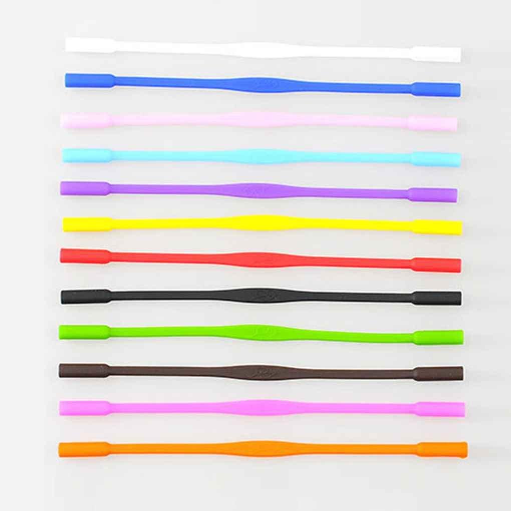 Vkospy Anti Slip Lunettes de Soleil Lunettes Silicone Cordons Enfants Lunettes Rope