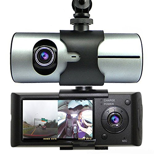 Indigi Car Blackbox DVR DashCam Double Camera