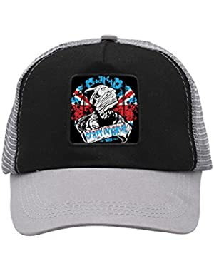 Unisex Trussed Man Adjustable Classic Hiphop Hat Baseball Cap Snapback Dad Hat