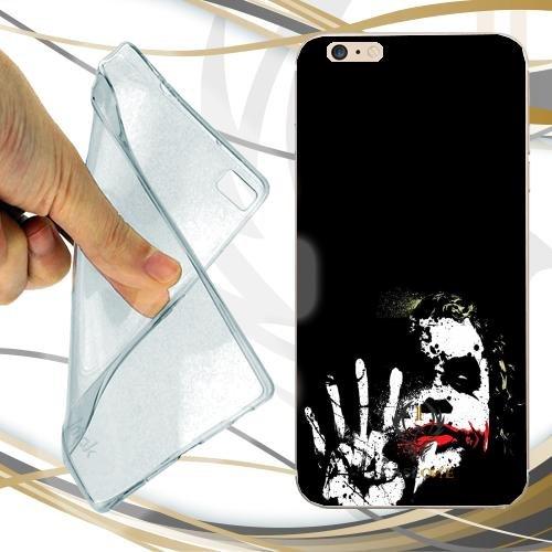 CUSTODIA COVER CASE JOKER BLACK WHITE PER IPHONE 7