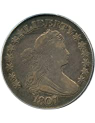 1807 P Bust Half Dollars Draped Bust Half Dollar VF20 PCGS