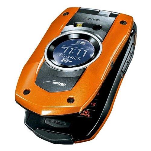 (Verizon PCDC711ORXCMU PCD Casio C711 GzOne Boulder Replica Dummy Phone/Toy Phone, Orange)