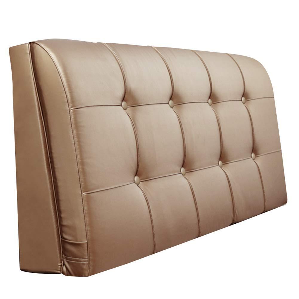 SXT 生地の純木のベッドの頭部の大きいあと振れ止め、ないベッドの頭部1.8mの寝室の二重洗濯できる壁のクッション9 cm colorssizes利用できる (Color : Light Brown, サイズ : 200x9x58cm) B07R8RV7Z3 Light Brown 200x9x58cm