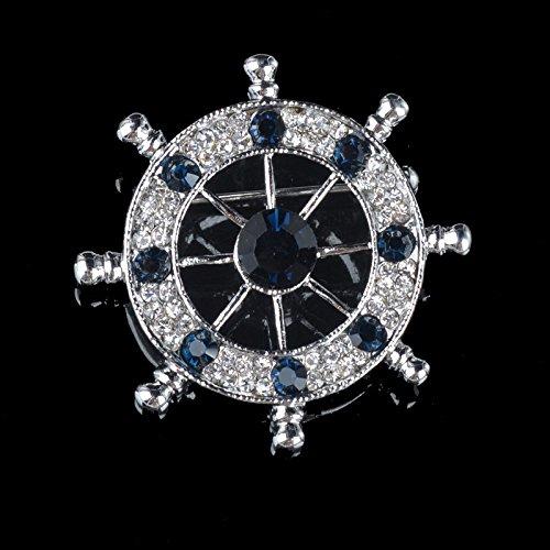 Wild collar button jewelry vintage decorative beads blue shirt lapel men detachable collar collar pearl collar flower (Lapel Bead)