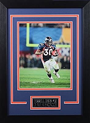 Terrell Davis Framed 8x10 Denver Broncos Photo (TD-P1D)