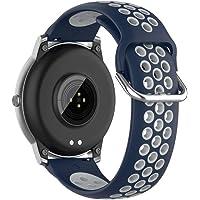 Smart Watch-vervangende bandjes Band voor Xiaomi Haylou Solar LS05, 22 MM siliconen sport Tweekleurige band voor slimme…