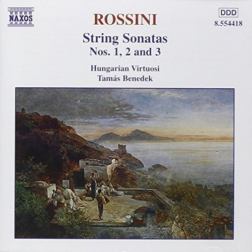 String Sonatas 1 by Rossini, G. (1999-03-09)