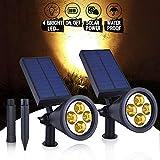 Apissada Solar Powered Spot Light 4 LED