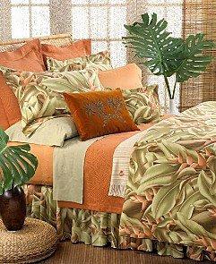 Amazon.com: Tommy Bahama Ginger Leaf Euro Sham: Home & Kitchen