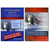 New Citizenship Basics Textbook, DVD, and Audio CD U.S. Naturalization Test Study Guide 100 Civics Questions with New & Updated N-400 Application Questions: Pass the Citizenship Interview with the New Textbook, CD, and DVD