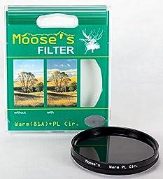 Hoya 77mm Moose Peterson Warming Circular Polarizer Filter
