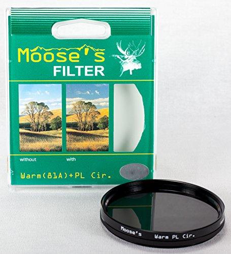 Hoya 82mm (Moose) Warm Circular Polarizer Glass Filter by Hoya