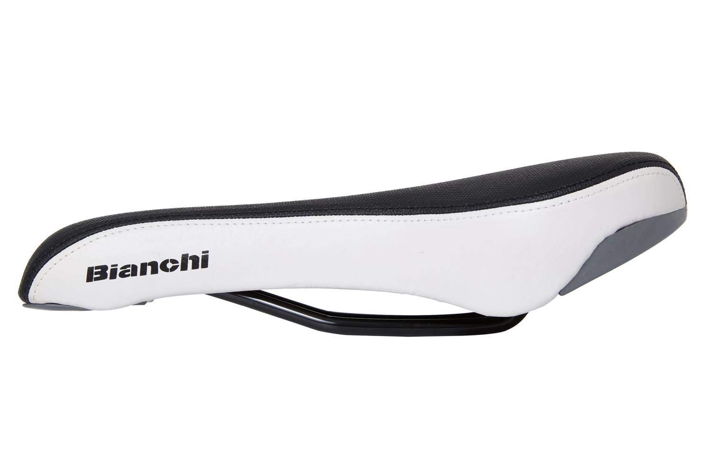 bicycle saddle MTB Bianchi Vapor black//white cross bike bicycle saddle. touren trekking
