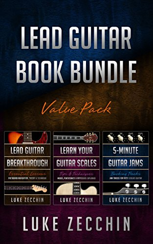 - Lead Guitar Book Bundle: Lead Guitar Breakthrough + Learn Your Guitar Scales + 5-Minute Guitar Jams (Books + Online Bonus)