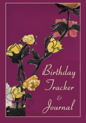 Birthday Tracker Journal Jan Yager product image