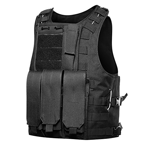 Review GZ XINXING 100% Full Refund Assurance Tactical Airsoft Vest (Black02)