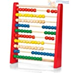 Childrens Large Wooden Bead Abacus Co...