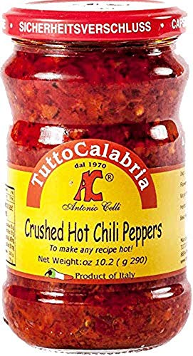 (TUTTO CALABRIA Crushed Calabrian Peppers, 10 OZ)