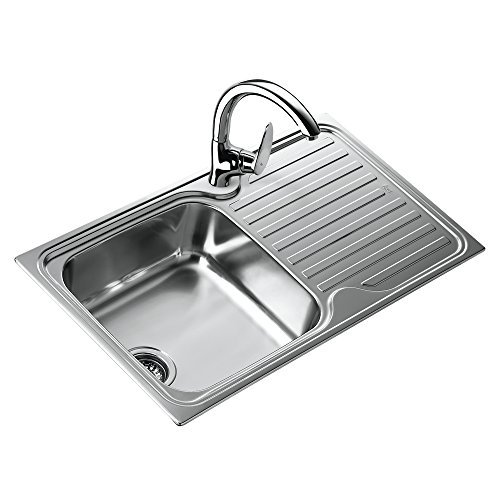 Teka 10119057 1C 1E MTX Classico Stainless Steel Single Bowl Sink by Teka