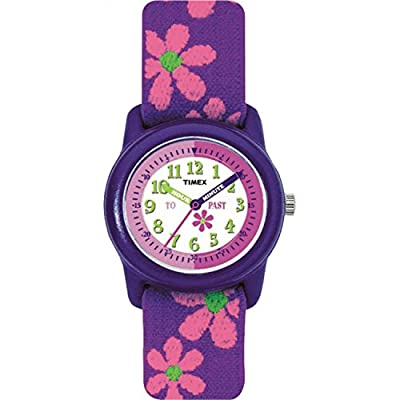 Timex Girls Time Machines Analog Elastic Fabric Strap Watch by Timex Corporation