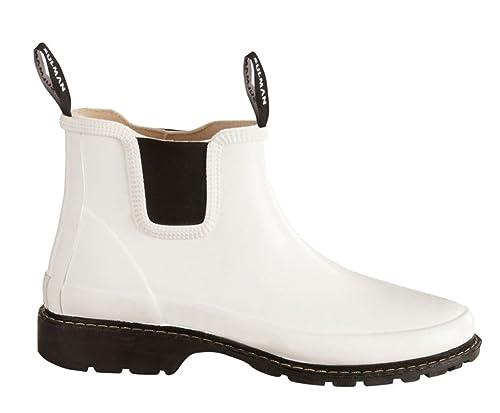 f47890ad3f2 Sulman Women's Agnes Wellington Chelsea Boots Black: Amazon.co.uk ...
