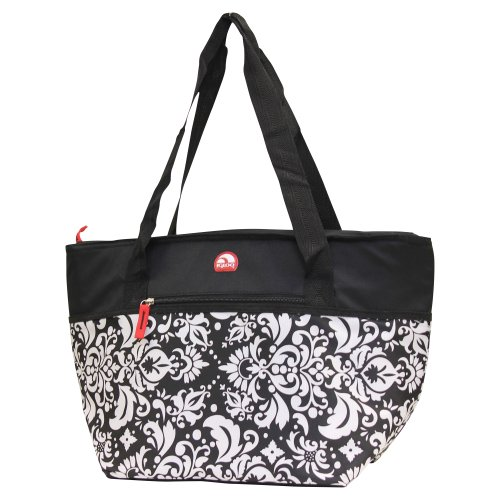 igloo-insulated-shopper-cooler-tote-bag-black