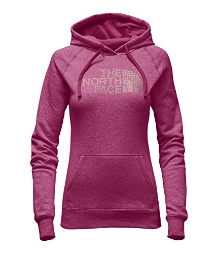 The North Face Women's Patterned Half Dome Pullover Hoodie Petticoat Pink Heather ()