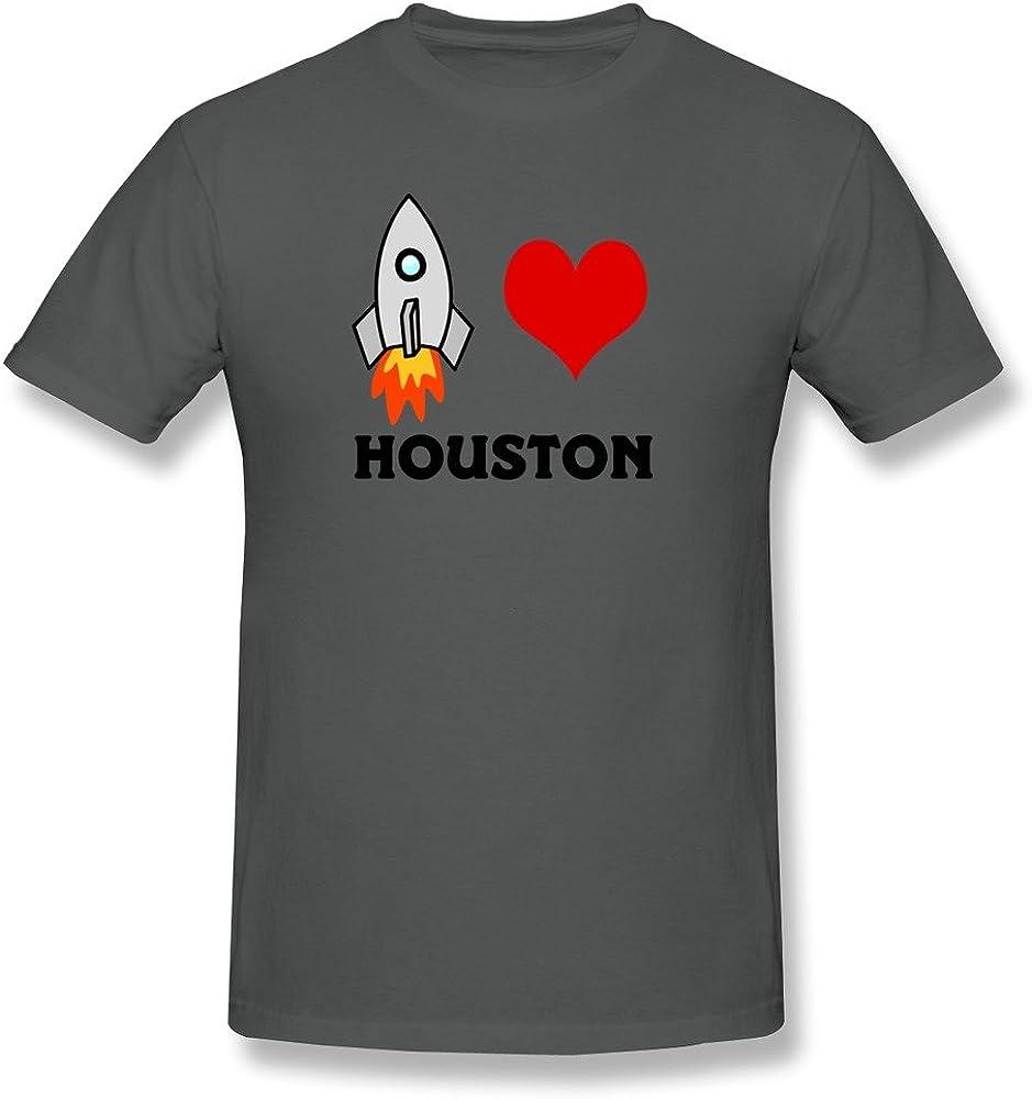 Botoro Men's Houston Toy Rocket Tshirts