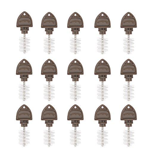 Beer Tap Plugs Brush, Beer Faucet Brush Plugs for Draft Beer Faucet Cap - 15 Pack (Beer Faucet Cleaner)