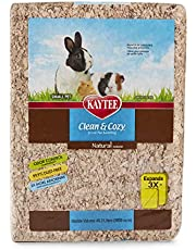 Kaytee Clean & Cozy Natural Small Animal Bedding, Expands to 55 L